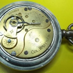 Columbus Watch Co. Pocket Watch #244859