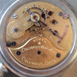 Columbus Watch Co. Pocket Watch Grade North Star #272991