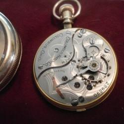 Columbus Watch Co. Grade North Star Pocket Watch