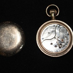 Columbus Watch Co. Pocket Watch Grade 92 #301277