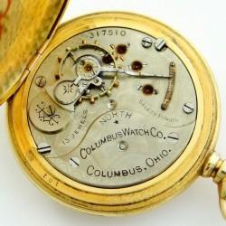 Columbus Watch Co. Pocket Watch Grade North Star #317510