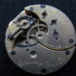 Columbus Watch Co. Pocket Watch Grade  #330219