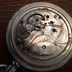Columbus Watch Co. Pocket Watch Grade  #335373