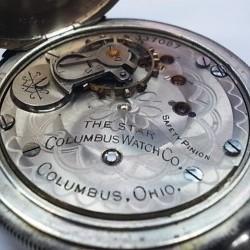 Columbus Watch Co. Pocket Watch Grade The Star #337087