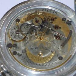 Columbus Watch Co. Pocket Watch Grade Railway King Special #340416