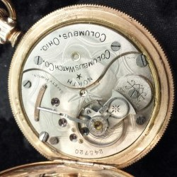 Columbus Watch Co. Pocket Watch Grade North Star #345866