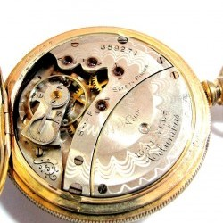 Columbus Watch Co. Pocket Watch Grade  #359271