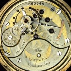 Columbus Watch Co. Pocket Watch Grade  #363348