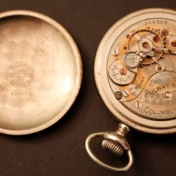 Columbus Watch Co. Pocket Watch Grade Railway King #364568