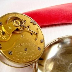 Columbus Watch Co. Pocket Watch Grade 21 #43112