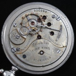 Columbus Watch Co. Pocket Watch Grade Time King #500399