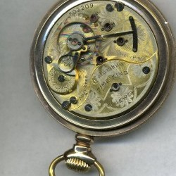 Columbus Watch Co. Pocket Watch Grade Time King #502209