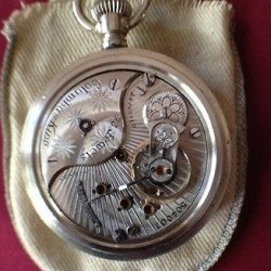 Columbus Watch Co. Pocket Watch Grade Columbus King #504007