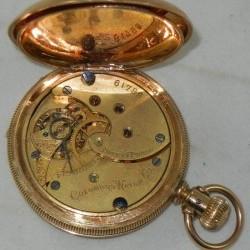 Columbus Watch Co. Pocket Watch Grade  #61845