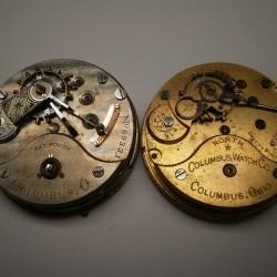 Columbus Watch Co. Pocket Watch Grade  #69331