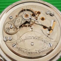 Columbus Watch Co. Pocket Watch #78633
