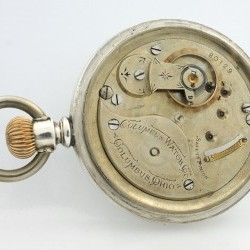 Columbus Watch Co. Pocket Watch Grade  #80129