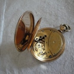 Columbus Watch Co. Pocket Watch Grade  #97208