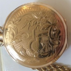 Columbus Watch Co. Pocket Watch Grade  #283408