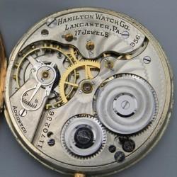 Hamilton Grade 956 Pocket Watch