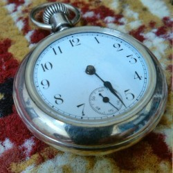 New England Watch Co. Grade  Pocket Watch