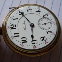 Hamilton Grade 942 Pocket Watch