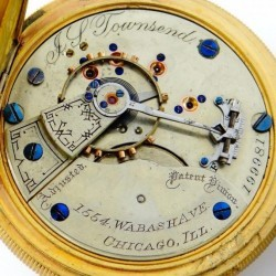 Hampden Pocket Watch #199981