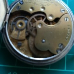 Seth Thomas Grade 46 Pocket Watch