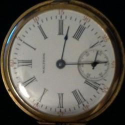 Waltham Grade Seaside Pocket Watch
