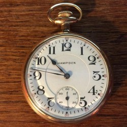 Hampden Grade Chronometer Pocket Watch