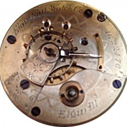 Elgin Grade 87 Pocket Watch