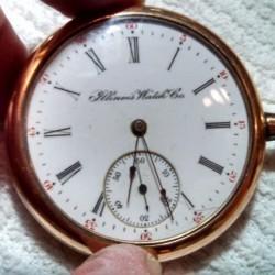 Illinois Grade 172 Pocket Watch