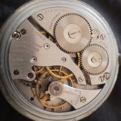 Waltham Grade No. 1609 Pocket Watch