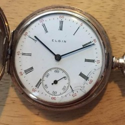 Elgin Grade 289 Pocket Watch