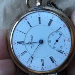 Illinois Grade 173 Pocket Watch