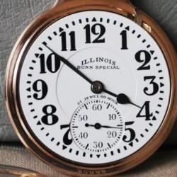 Illinois Grade 161-161E Pocket Watch