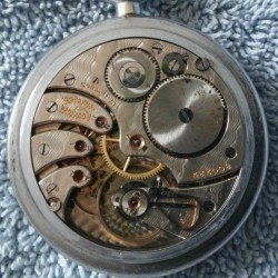 Rockford Grade 572 Pocket Watch
