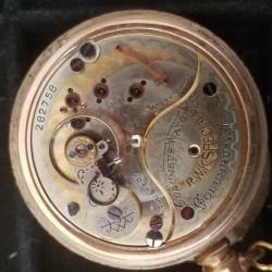 Columbus Watch Co. Pocket Watch Grade Unknown #287758