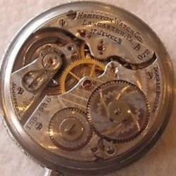 Hamilton Grade 972 Pocket Watch