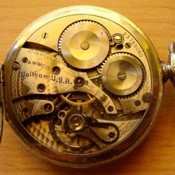 Waltham Grade No. 1225 Pocket Watch