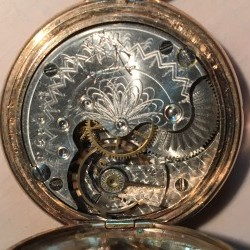 Trenton Watch Co. Grade  Pocket Watch