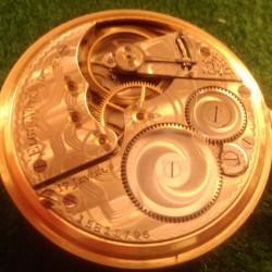 Elgin Grade 387 Pocket Watch