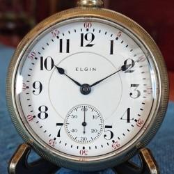 Elgin Grade 214 Pocket Watch