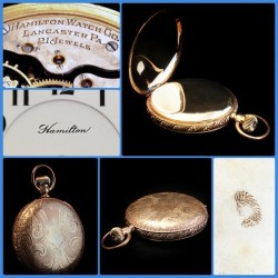 Hamilton Grade 993 Pocket Watch