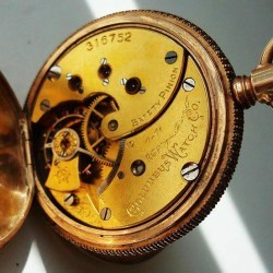 Columbus Watch Co. Pocket Watch Grade Unknown #316752