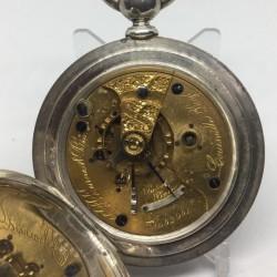 Illinois Grade Miller Pocket Watch
