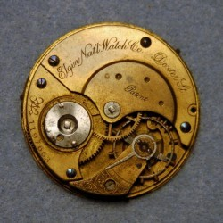 Elgin Grade 28 Pocket Watch