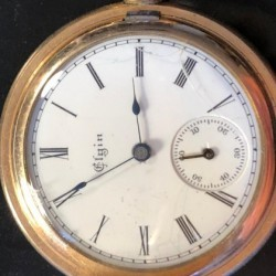 Elgin Grade 113 Pocket Watch