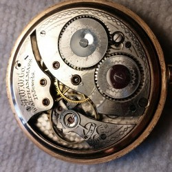 Waltham Grade No. 225 Pocket Watch