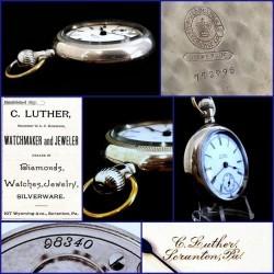 Hamilton Grade 924 Pocket Watch